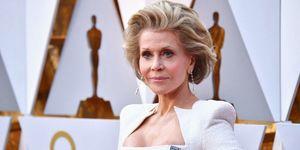 Jane Fonda bij de Oscars 2018