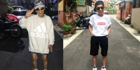 White, Street fashion, Footwear, Fashion, Shoe, T-shirt, Headgear, Muscle, Walking, Sportswear,