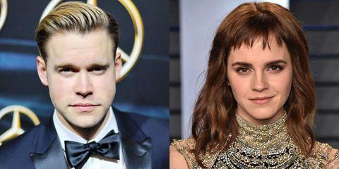Emma Watson en Chord Overstreet