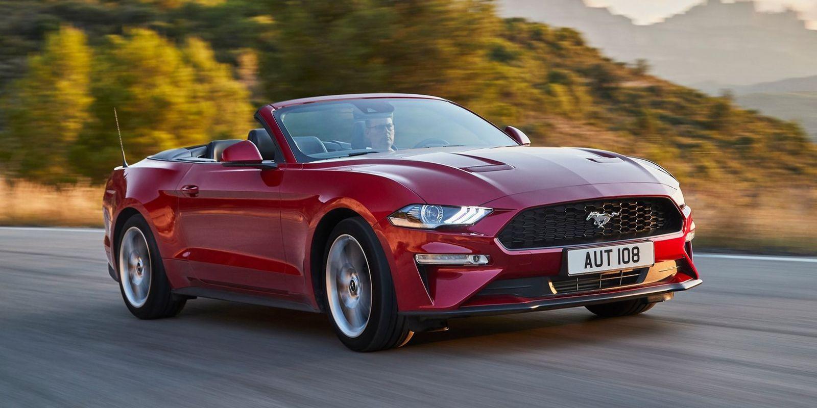 Ford Mustang Convertible 2018 Creado Para Seducir