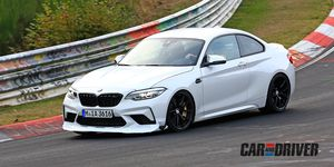 BMW M2 CS cazado