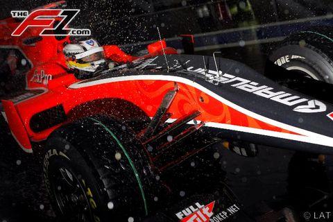 Automotive tire, Automotive design, Open-wheel car, Formula one tyres, Formula one, Formula one car, Motorsport, Automotive wheel system, Formula racing, Car,