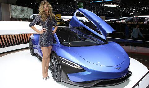 Automotive design, Event, Vehicle, Car, Sports car, Auto show, Supercar, Concept car, Fashion, Luxury vehicle,