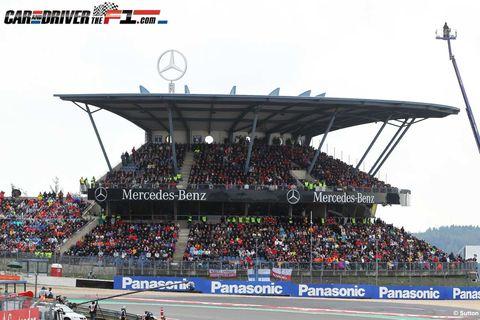 People, Sport venue, Crowd, Fan, Stadium, Audience, Racing, Race track, Championship, Arena,
