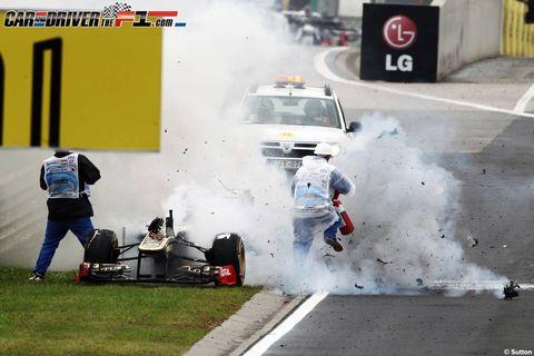 Smoke, Motorsport, Pollution, Race car, Auto racing, Signage, Racing, Drifting, Sign, Service,