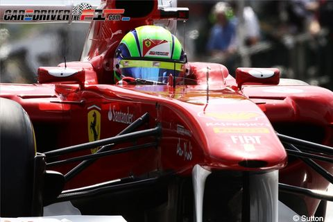 Automotive design, Open-wheel car, Automotive tire, Red, Formula one, Automotive exterior, Car, Formula one car, Formula racing, Race car,