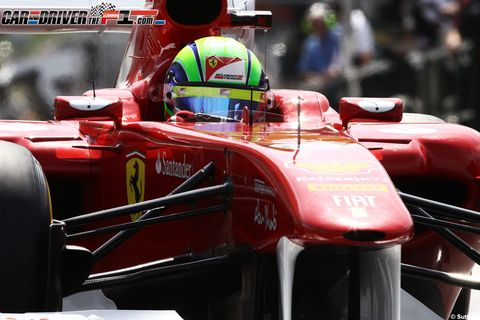 Automotive design, Open-wheel car, Automotive tire, Red, Automotive exterior, Formula one, Car, Formula racing, Formula one car, Logo,