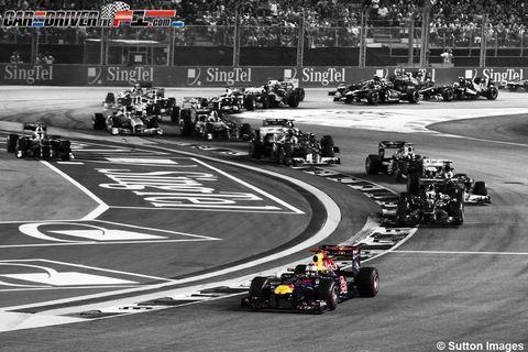 Sport venue, Automotive tire, Automotive design, Race track, Racing, Monochrome, Logo, Motorsport, Auto racing, Formula racing,