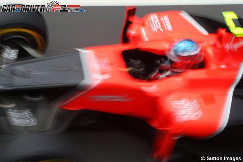 Red, Orange, Auto part, Plastic, Machine, Playstation accessory, Toy, Motorsport, Racing,