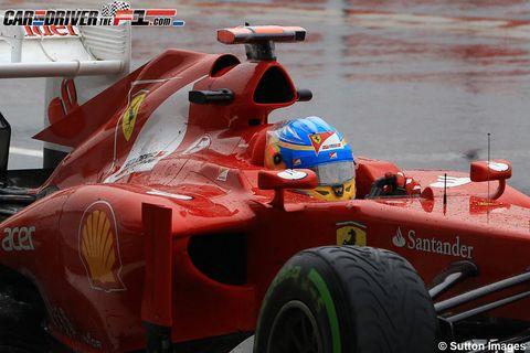 Tire, Automotive tire, Automotive design, Open-wheel car, Automotive wheel system, Red, Formula one, Motorsport, Auto part, Race car,