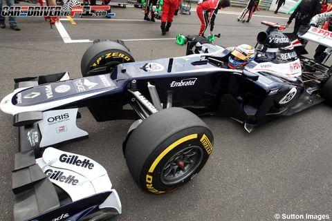 Tire, Wheel, Automotive tire, Automotive design, Open-wheel car, Automotive wheel system, Formula one tyres, Formula one, Formula one car, Formula racing,