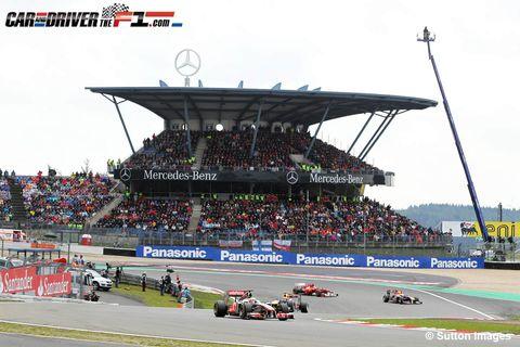Sport venue, Race track, Automotive tire, Motorsport, Racing, Competition event, Auto racing, Championship, Sports car racing, Crowd,