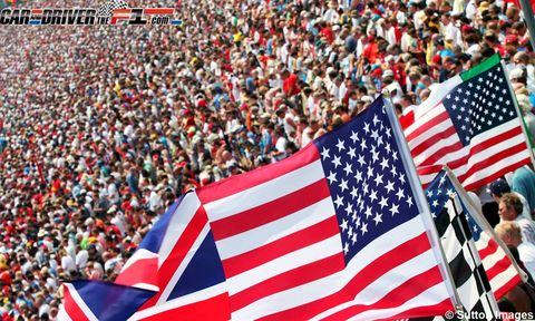 People, Crowd, Flag of the united states, Flag, Red, Style, Fan, Carmine, World, Audience,