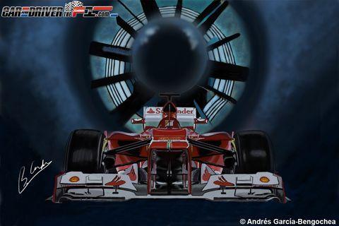 Automotive design, Automotive tire, Open-wheel car, Automotive exterior, Formula one, Automotive wheel system, Space, Motorsport, Race car, Auto part,