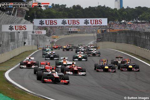 Tire, Automotive tire, Automotive design, Mode of transport, Race track, Sport venue, Vehicle, Motorsport, Asphalt, Racing,