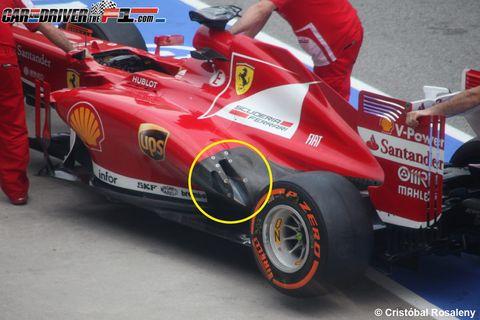 Tire, Wheel, Automotive tire, Automotive design, Open-wheel car, Automotive wheel system, Formula one, Formula one tyres, Motorsport, Red,