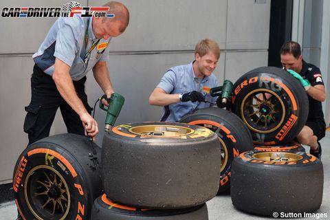 Wheel, Tire, Automotive tire, Automotive design, Automotive wheel system, Rim, Formula one tyres, Auto part, Synthetic rubber, Tread,
