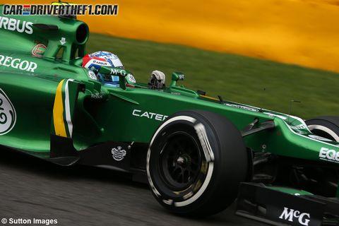 Tire, Automotive tire, Green, Automotive design, Open-wheel car, Formula one tyres, Automotive wheel system, Sport venue, Race track, Formula one,