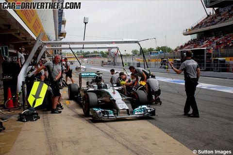 Motor vehicle, Automotive design, Automotive tire, Sport venue, Formula one tyres, Race track, Motorsport, Open-wheel car, Formula one, Auto part,