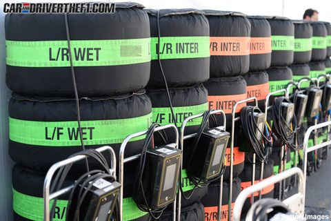 Automotive tire, Green, Synthetic rubber, Plastic, Teal, Gas, Tread, Shelf, Cylinder, Bicycles--Equipment and supplies,