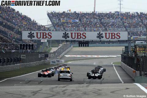 Sport venue, Race track, Automotive tire, Road surface, Asphalt, Motorsport, Racing, Lane, Race car, Auto racing,