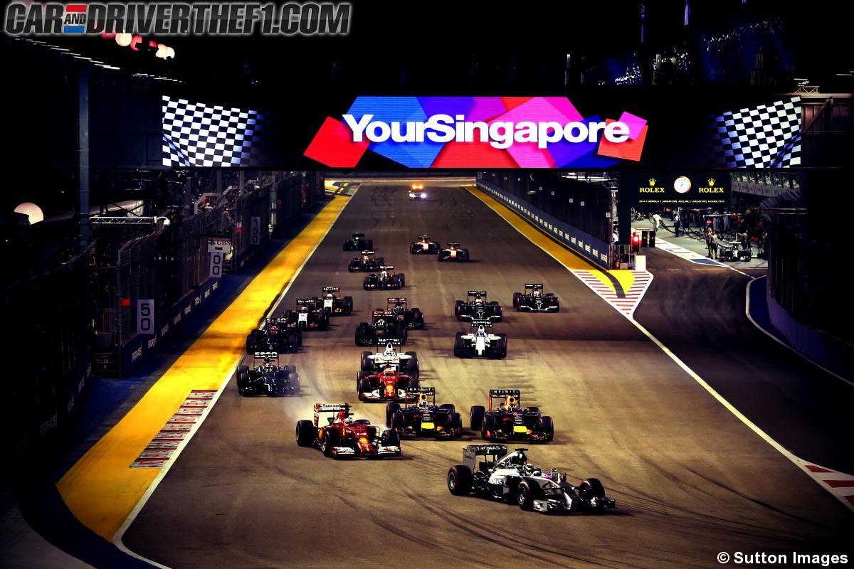 Circuito F1 Singapur : Previo de motores para el gp de singapur f gestionando la noche