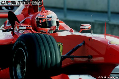 Automotive tire, Automotive design, Mode of transport, Open-wheel car, Automotive wheel system, Formula one, Formula one tyres, Red, Formula one car, Auto part,
