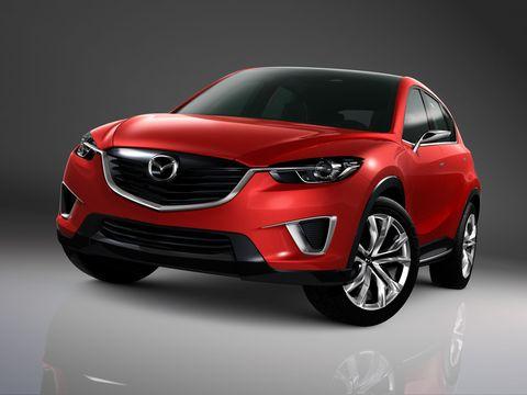 Motor vehicle, Automotive design, Vehicle, Car, Automotive lighting, Red, Grille, Headlamp, Hood, Automotive fog light,