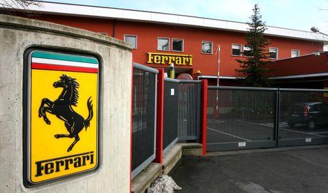 Fabrica de Ferrari en Maranello
