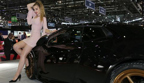 Land vehicle, Vehicle, Car, Auto show, Automotive design, Personal luxury car, Model, Exhibition, Event, Outerwear,