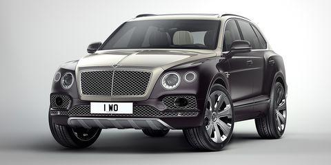 Land vehicle, Vehicle, Car, Motor vehicle, Luxury vehicle, Automotive design, Grille, Bentley, Personal luxury car, Sport utility vehicle,