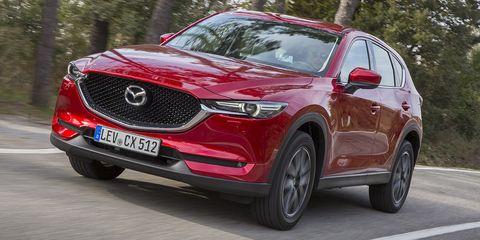 Land vehicle, Vehicle, Car, Motor vehicle, Automotive design, Mazda, Mazda cx-5, Crossover suv, Compact sport utility vehicle, Grille,