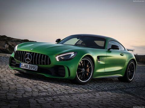 Land vehicle, Vehicle, Car, Performance car, Automotive design, Motor vehicle, Luxury vehicle, Sports car, Mercedes-benz sls amg, Green,