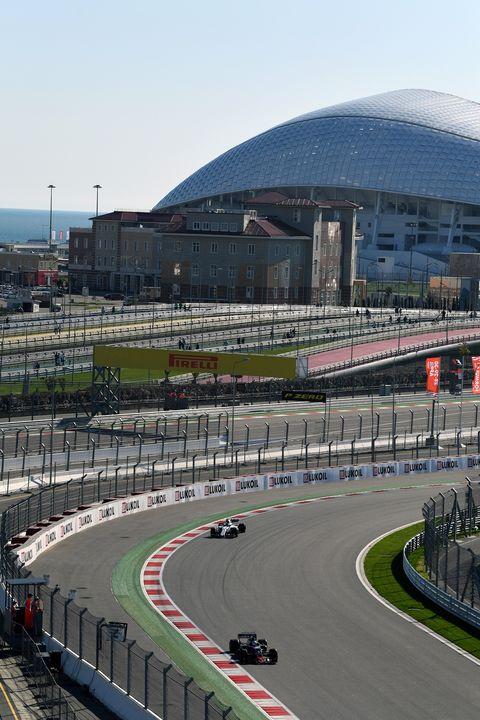 Race track, Sport venue, Endurance racing (motorsport), Asphalt, Metropolitan area, Racing, Motorsport, Auto racing, Thoroughfare, Vehicle,