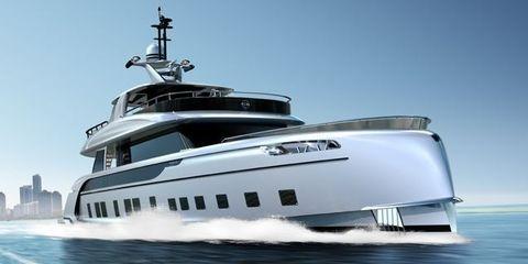 Vehicle, Water transportation, Luxury yacht, Yacht, Boat, Naval architecture, Ship, Watercraft, Motor ship, Speedboat,
