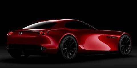 Land vehicle, Vehicle, Car, Automotive design, Red, Sports car, Supercar, Concept car, Performance car, Race car,