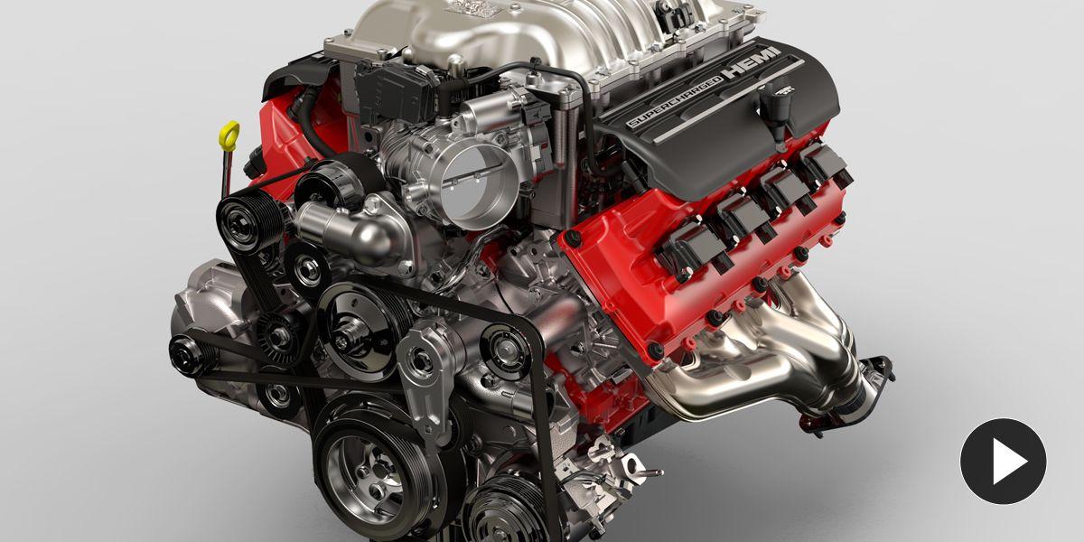 Asi Suena El V8 Supercharged Del Dodge Challenger Srt Demon A 6 399 Rpm