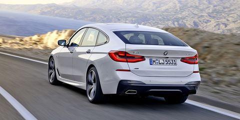 BMW Serie 6 Gran Turismo - trasera en carretera