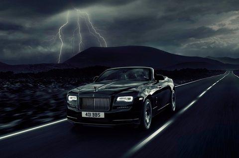Automotive design, Storm, Grille, Car, Automotive lighting, Thunderstorm, Rolls-royce, Thunder, Personal luxury car, Luxury vehicle,