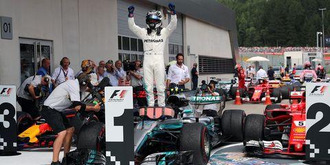 Formula one, Formula one car, Formula one tyres, Formula racing, Race car, Vehicle, Automotive design, Open-wheel car, Motorsport, Race track,