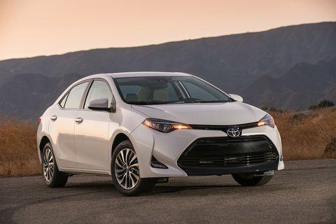 Land vehicle, Vehicle, Car, Mid-size car, Automotive design, Toyota, Full-size car, Sedan, Toyota corolla, Automotive wheel system,