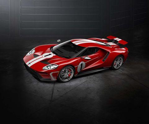 Land vehicle, Car, Supercar, Sports car, Vehicle, Automotive design, Red, Race car, Coupé, Performance car,