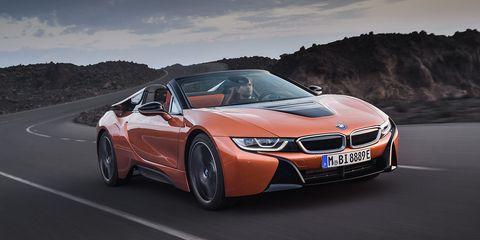 BMW i8 Roadster - en carretera