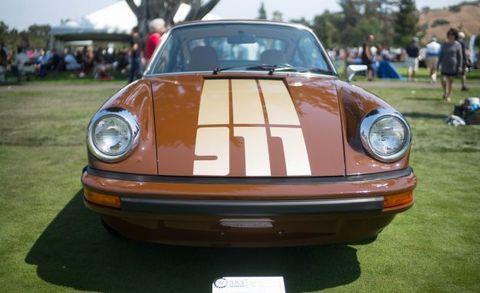 Land vehicle, Vehicle, Car, Regularity rally, Porsche 911 classic, Motor vehicle, Coupé, Porsche 930, Automotive design, Bumper,