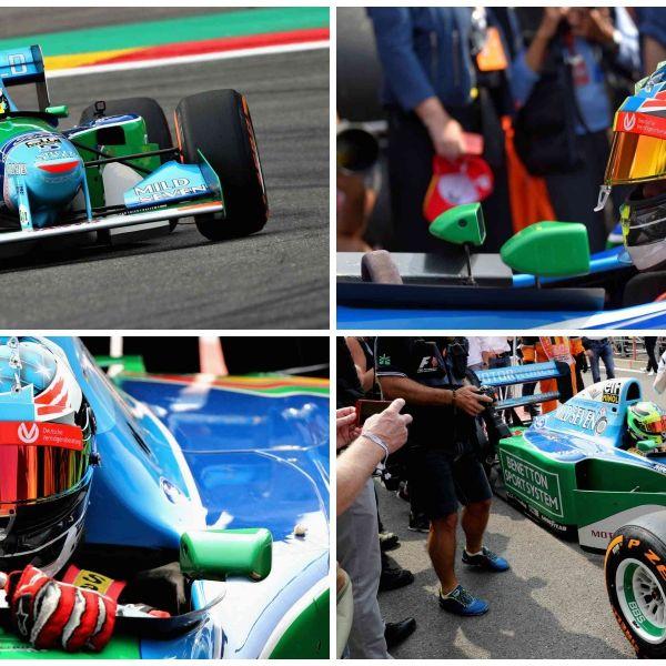 Formula racing, Formula one tyres, Tire, Race track, Automotive tire, Helmet, Formula one car, Race car, Vehicle, Automotive design,