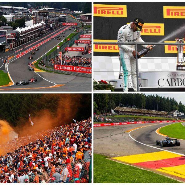 Human, Sport venue, Asphalt, Automotive tire, Logo, Crowd, Race track, Motorsport, Formula racing, Formula one,