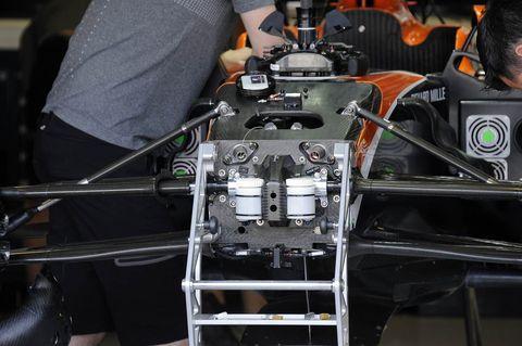 Vehicle, Engine, Auto part, Engineering, Formula one car, Car, Machine,