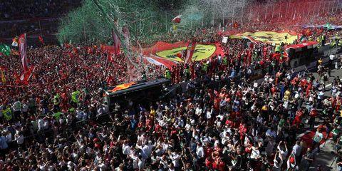 Crowd, Fan, People, Product, Audience, Event, Public event, Stadium, Festival, Sport venue,
