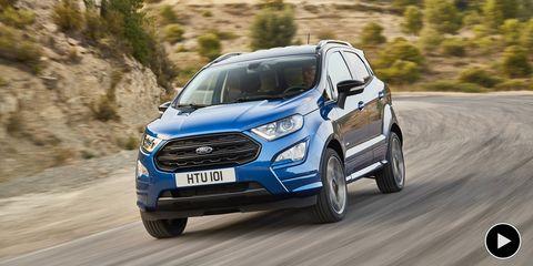 Land vehicle, Vehicle, Car, Motor vehicle, Mini SUV, Sport utility vehicle, Automotive design, Ford, Ford ecosport, Compact sport utility vehicle,