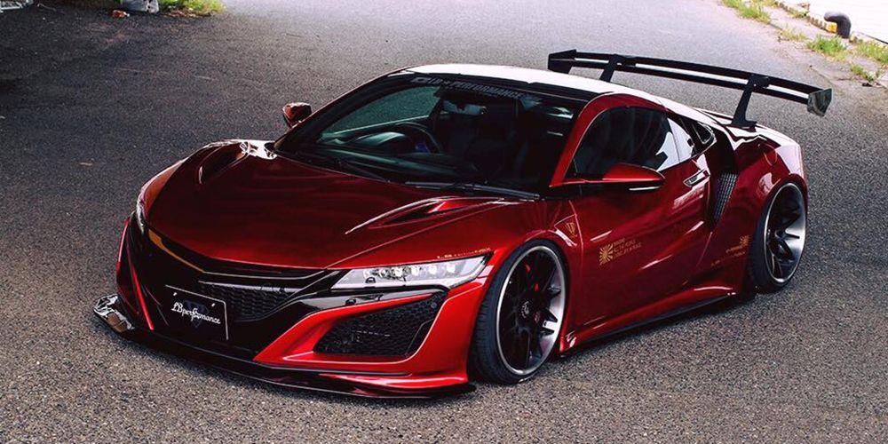 Honda NSX by Liberty Walk: Amarás los híbridos sobre todas las cosas